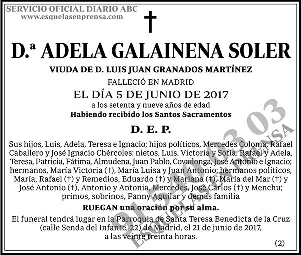 Adela Galainena Soler